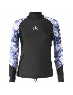 AQUALUNG RASH GUARD AQUA lady