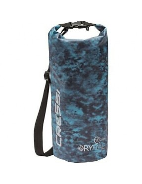 CRESSI DRY BAG CAMOUFLAGE BLUE