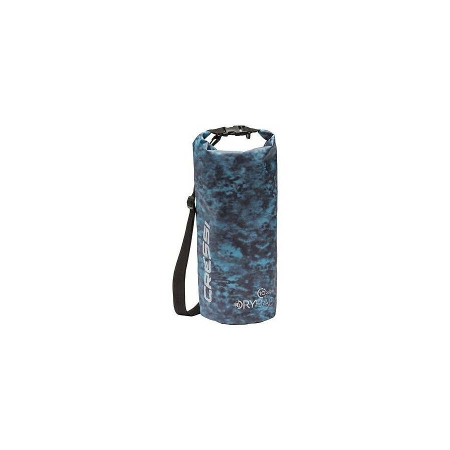 CRESSI DRY BAG CAMOUFLAGE BLUE