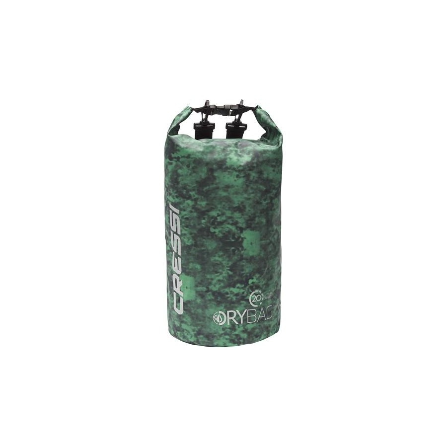 CRESSI DRY BAG CAMOUFLAGE GREEN